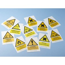 Chemical Safety Sign - Acid + Chlorine = Gas
